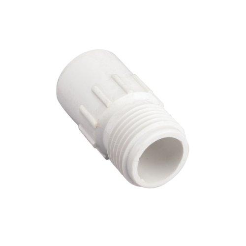 5 Pack - Orbit 12&quot Slip X 34&quot Mht Pvc Hose-to-pipe Adapter