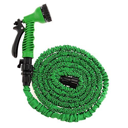 Foxpic 25FT Expanding Garden Water Hose Pipe Flexible Watering Equipment