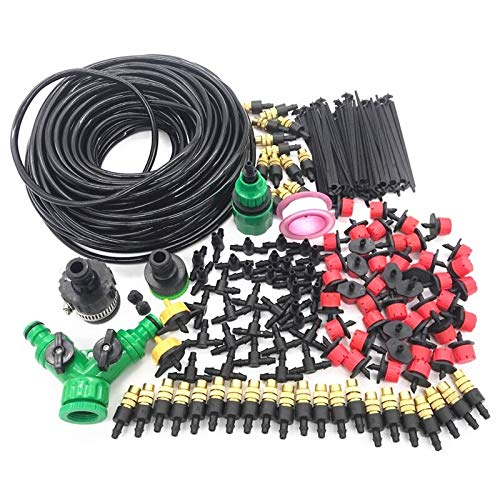 Professional For Garden Hose Irrigation 30m Garden Watering Irrigation System Kit With Pvc Hose Misting Sprinkler - Lawn Irrigation System Garden Irrigation System Garden Irrigation