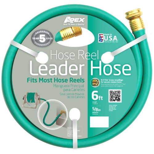Apex 887-6  Hose Reel Leader Hose 58-Inch x 6-Feet