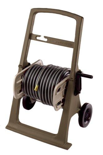 Suncast SHA150B 150-Foot Capacity Garden Hose Hosemobile Reel Cart MochaTaupe