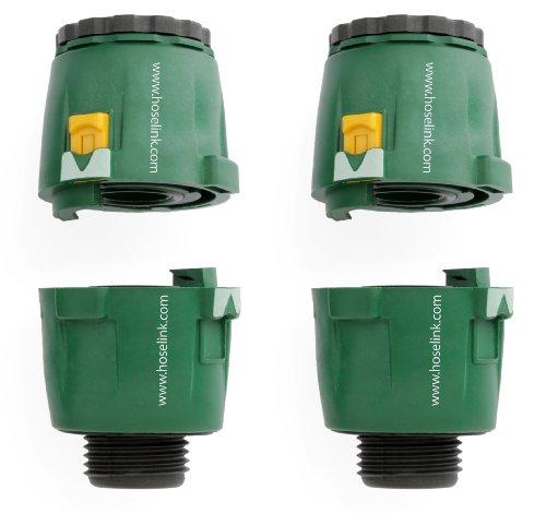 Hoselink Garden Hose Connector Starter Kit