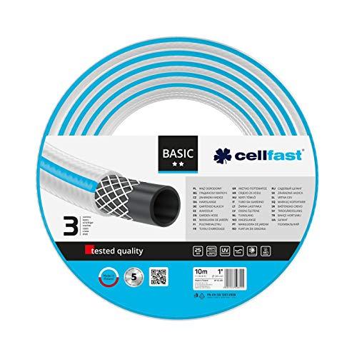 Cellfast 10-431 Basic Garden Hose 1 10m Blue