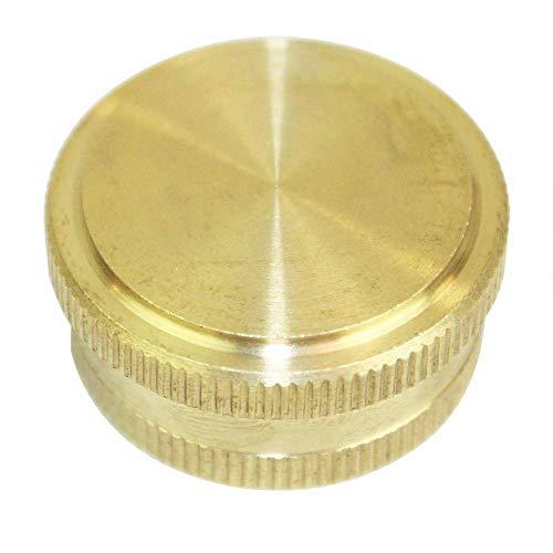 Garden Water Hose End Cap Die Cast Brass FGC00 34
