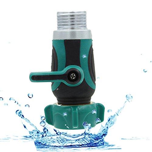 Sumnacon&reg 34&quot Garden Hose Connector - Hose Splitter Hose Adapternozzlewatering Shut Off Valve For Home Lawn