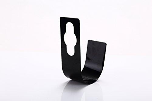 Dreamthinker Metal Garden Hose Hanger in Black Durable Product