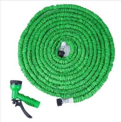 100FT Expandalble Garden Hose Water Pipe with 7 Modes Spray Gun