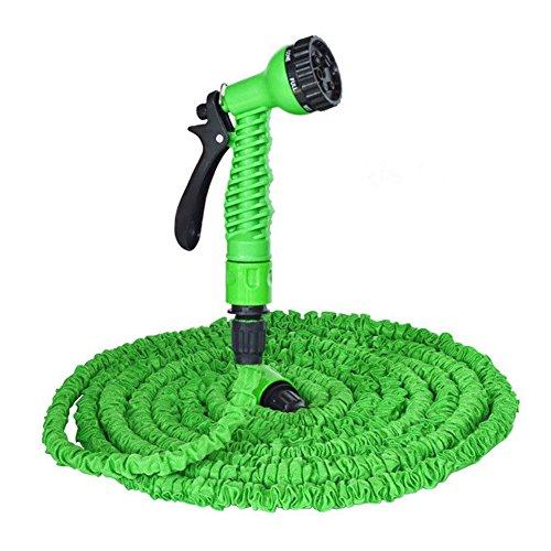 Flexible Expandable Garden Hose SEANUT Water Pipe with Spray Gun and Washer nozzle 25 Feet50FT200Feet250Feet Garden Hose x 25FT