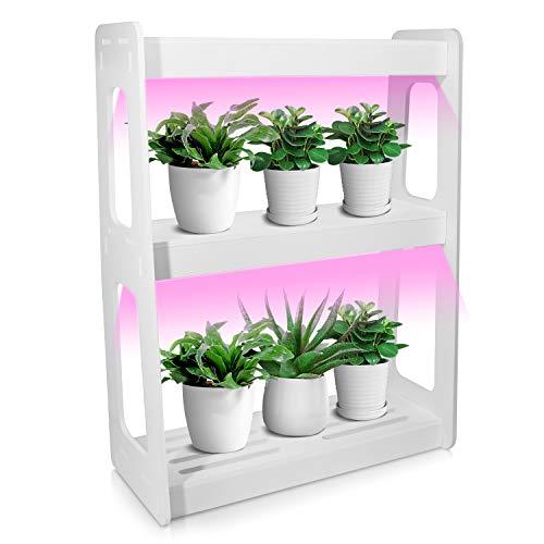 Indoor Garden kit-LED Indoor Garden LightIndoor Garden Light with Timer FunctionFull Spectrum Growing LightHerbs Garden for Growing HerbsVegetablesGrowing LightPlus
