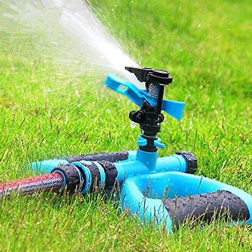 Dewel  Water Sprinkler System Impulse Long Range Sprinklers for Garden and Lawn