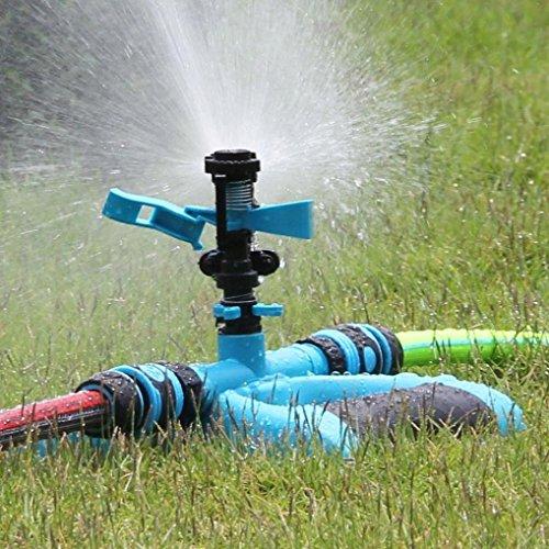 OVERMAL Water SprinklerCircular Lawn Sprinklers Yard Water Long Range Impulse Sprinkler System