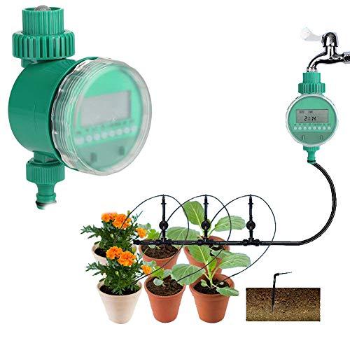 Garden Water TimerAutomatic Electric Digital Garden Irrigation Timer Flowers Watering System Intelligent Watering Controller