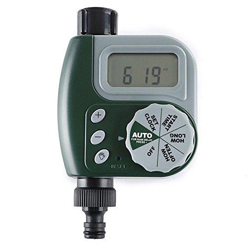 Sprinkler Timer - Electronic Water Tap Timer Diy Garden Irrigation Control Unit Digital Lcd - Controller Water Garden Irrigation Timer Garden Water Timers Hose Timer Electron Fuse Unit Kit