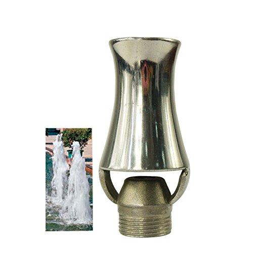 Navadeal Dn20 34&rdquo Stainless Steel Ice Tower Cascade Cedar Water Fountain Nozzle Spray Sprinkler Head