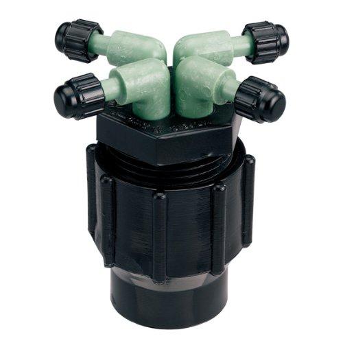 Orbit Drip Irrigation System 4-port Watering Manifold 14&quot Dripper Tube 61004d