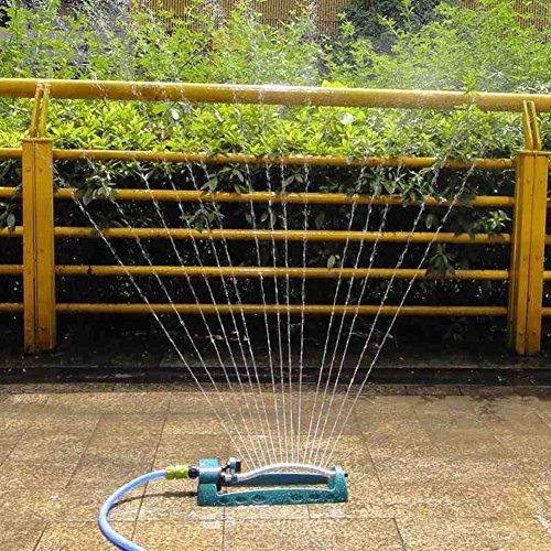 NACHEN Garden Lawn Automatic Water Sprinkler With 15 Spray Holes Garden Plastic Sprinklers