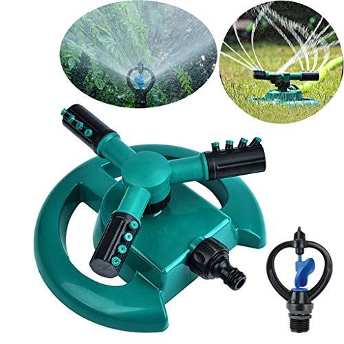 ThePass Garden ToolLawn Sprinkler Garden Sprinkler Head Automatic Water Sprinklers 360°Rotation
