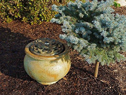 Henri Studio 2 Piece Dahlia Patio Bubbler Fountain Relic Nebbia