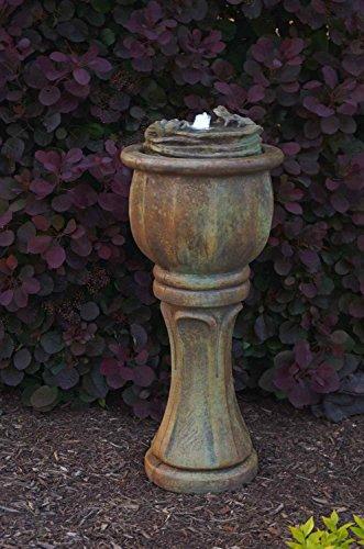 Henri Studio 2 Piece Frogs Patio Bubbler Fountain Tall Relic Barro