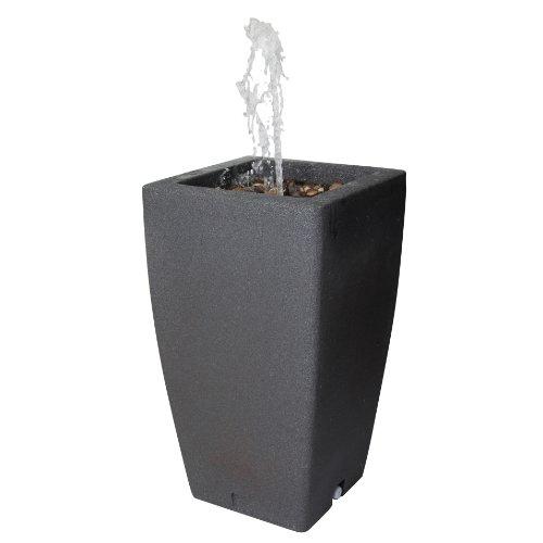 Algreen 84241 Madison Fountain Dark Granite 49 Gallon