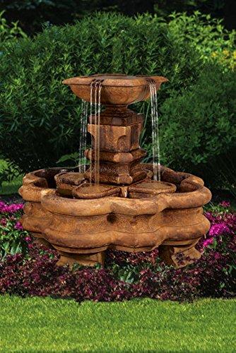 Henri Studio Classic Planter Pillar Fountain Without Splash Baskets Or Pedestals