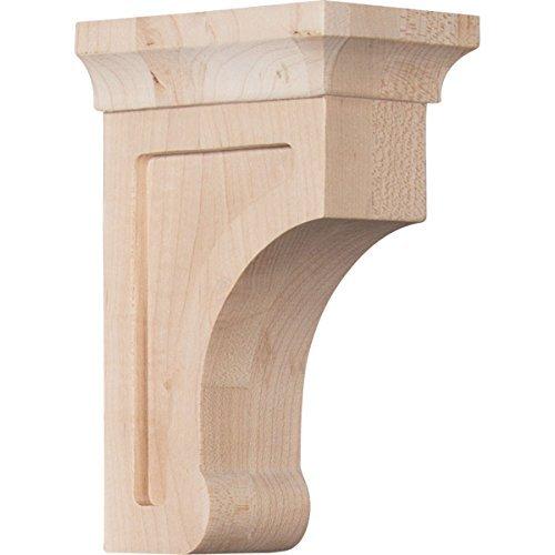 Ekena Millwork BKTW02X04X06GORW 2 12W x 4D x 6H Small Gomez Wood Bracket Rubber Wood Size 2 12W x 4D x 6H Color Rubberwood Model BKTW02X04X06GORW Outdoor Hardware Store