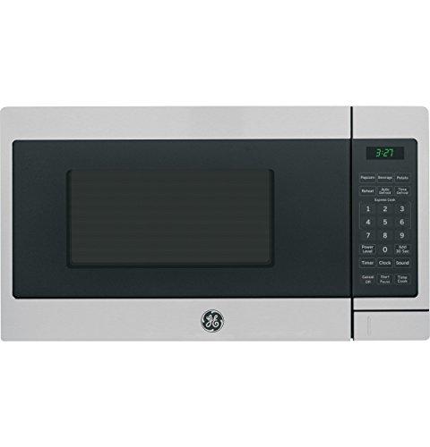 GE Appliances JEM3072SHSS Countertop Microwave 07 Cu Ft Stainless Steel