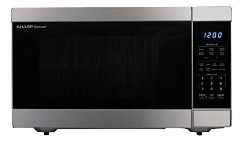 Sharp ZSMC1662DS Stainless Steel Countertop 1100 Watt Microwave Oven 16 cu ft