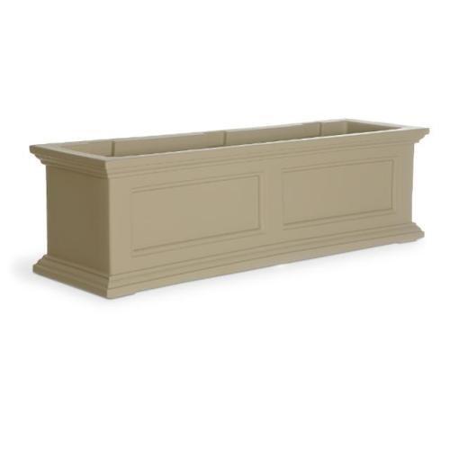 Mayne Fairfield 36 Window Box Combo with Corbel Brackets - Clay 3
