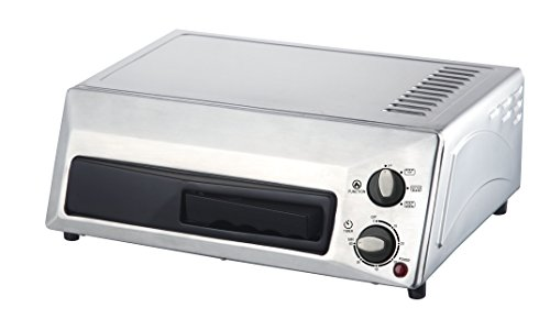 Magic Chef Countertop Stainless Steel Pizza Oven HQPZO13ST 12 inches