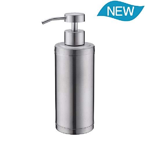 Soap Dispenser Pump Bathroom Kitchen 10 Oz 304L Stainless Steel Countertop Lotion Dispenser 300ML Liquid Bottle Hand Wash Rust Proof Pump