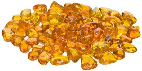 American Fireglass Fireplace And Firepit Eco Glass 10-pound Crystal Orange