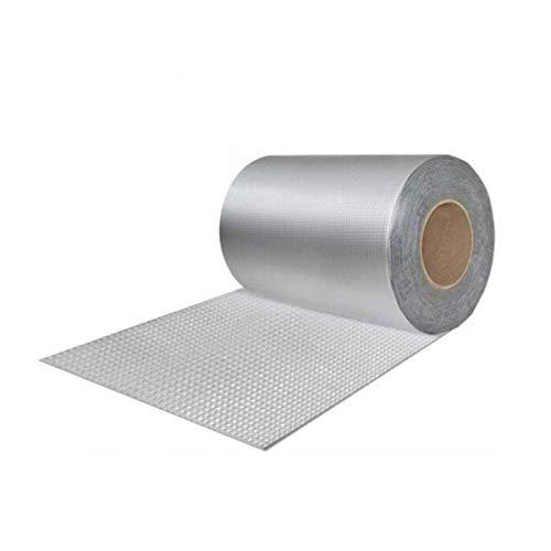 Jielongtongxun Waterproof Tape Room Roof Wall Crack Doors and Windows Water Pipe Bathroom Tile Glass Color Steel Tile Water Leakage Coil 20cm Wide 5m LongEasy to Tear