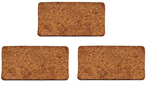 Organic Coconut Coir Bricks (1.4lbs Each) - Water Saving Coco Fiber Growing Medium For Potting Mix, Seedlings,