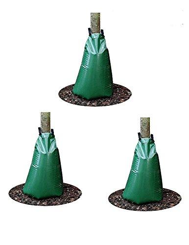 Shark 15 Gallon Water-saving Slow Release Tree Watering Bags 3 Pack