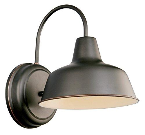 Design House 519504 Mason 1 Light Wall Light Oil Rubbed Bronze