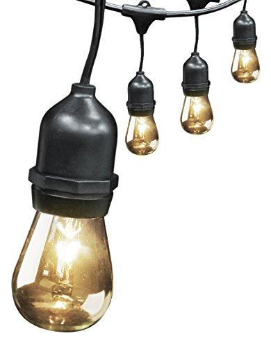 Feit Electric 72041 30 10-socket 15 Bulbs Outdoor String Light Set