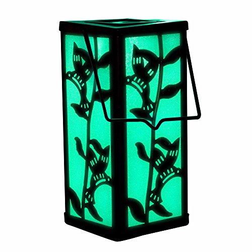 Solar Hanging Lantern Hummingbird Garden Decoration Outdoor Color Changing Light For Home Patio Deck Lawn Yard Decor by SolarDuke
