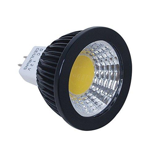 Excellent 1x MR16 5W DC 12V Aluminum COB LED Outdoor Landscape Spotlight Bulb Garden Wall Light Warm White 300LM