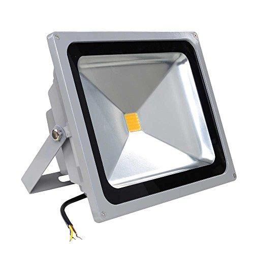50 Watts LED Waterproof Flood Light Fixture Warm White w ROHS CE certified for Outdoor Garden Lighting Landscape Pool