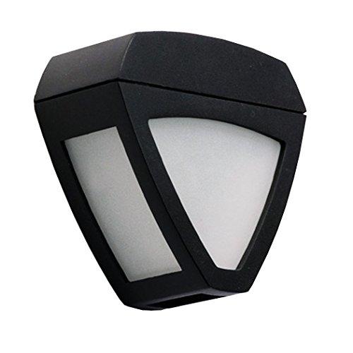 Eshion Triangle Solar Wall Light 2 LEDs for Outdoor Garden Lighting