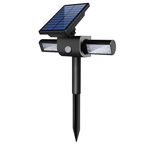 Innogear 360&deg Usb Solar Lights With Dual Head Waterproof Outdoor Landscape Lighting Garden Light