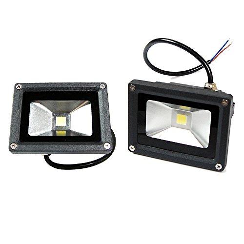 eTopLighting BLEF120V20DL-2P 2 Piece 20W Day Light White LED Security Flood Lamp For Outdoor Garden Lighting 120V 20 Watt IP65
