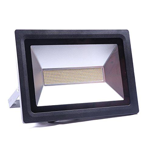 Favor LED Waterproof Flood Lights 30W Outdoor Spot Lamp Light Security Lights Super Bright Wall Light Lamp 2250LM144LEDsWarm White2700-3500K