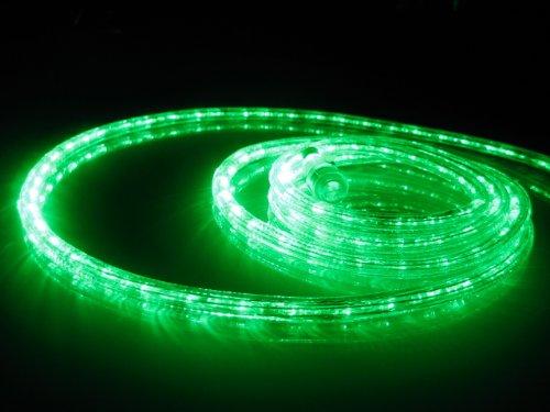10ft Rope Lights Emerald Green Led Rope Light Kit 10&quot Led Spacing Christmas Lighting Outdoor Rope Lighting