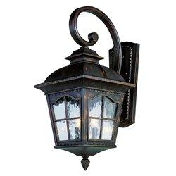 Trans Globe Lighting 5429 Ar 21-12-inch 2-light Outdoor Small Wall Lantern Antique Rust