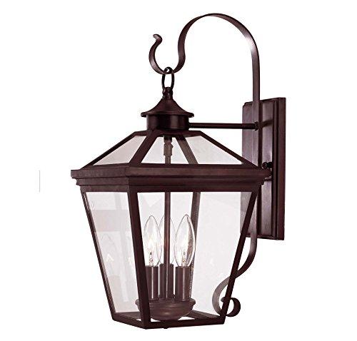 Savoy House Ellijay 3-Light Outdoor Wall Lantern in English Bronze 5-141-13