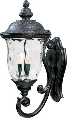 Maxim Lighting 40424WGOB 3 Light Outdoor Sconce Oriental Bronze
