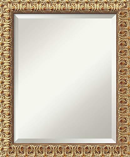 Amanti Art Framed Mirrors for Wall  Florentine Gold Mirror for Wall  Solid Wood Wall Mirrors  Small Wall Mirror 1950 x 2350