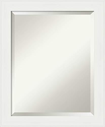 Framed Vanity Mirror  Bathroom Mirrors for Wall  Vanity White Narrow Mirror  Wall Mounted Mirror  Small Mirror  2338 x 1938